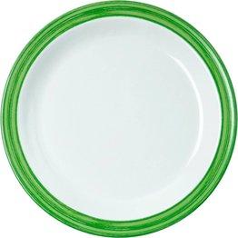 """Teller flach """"Colour"""" 19,5 cm grün"""