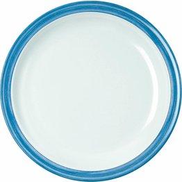 """Teller flach """"Colour"""" 23,5 cm blau"""