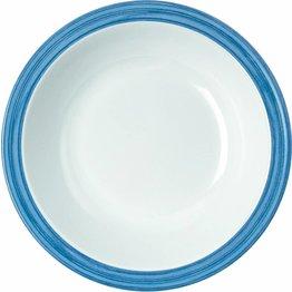 """Teller tief """"Colour"""" Ø20,5cm 600ml Melamin  blau"""