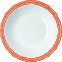 """Teller tief """"Colour"""" 20,5 cm orange"""