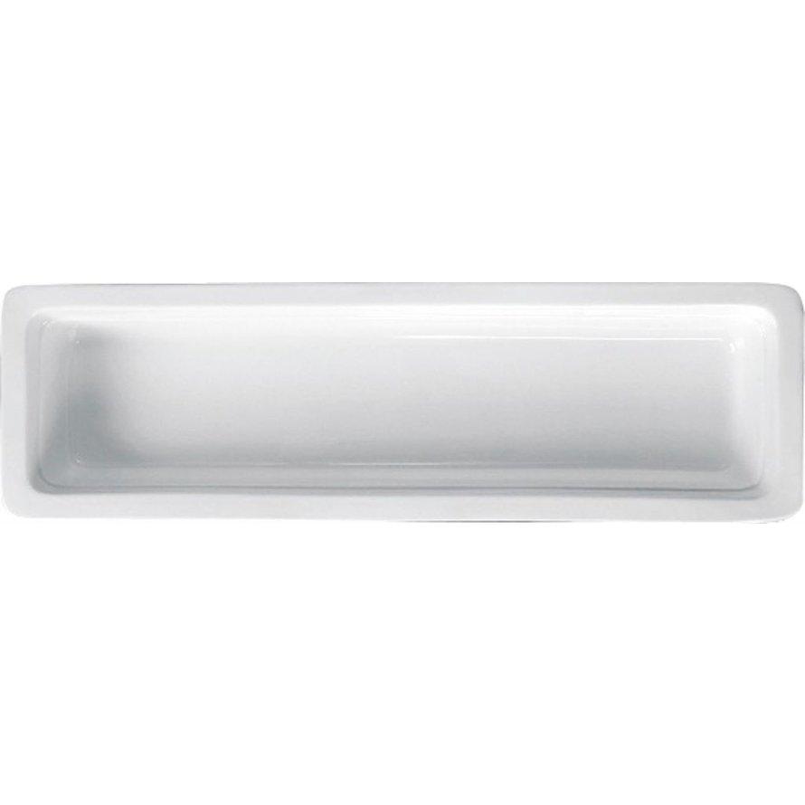 GN-Behälter, Porzellan, 65mm tief 2/4 GN