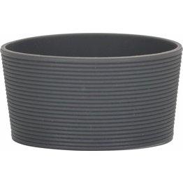 Silikonbanderole für Coffee to Go Becher Silikonbanderole grau, zu 0,2L