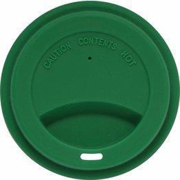 Silikondeckel für Coffee to Go Becher grün, zu 0,2L