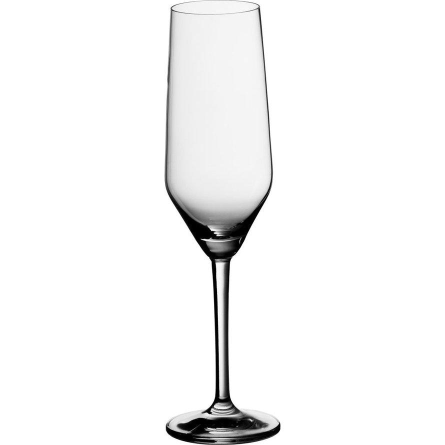 """Glasserie """"Castello"""" Sektkelch mit Füllstrich"""
