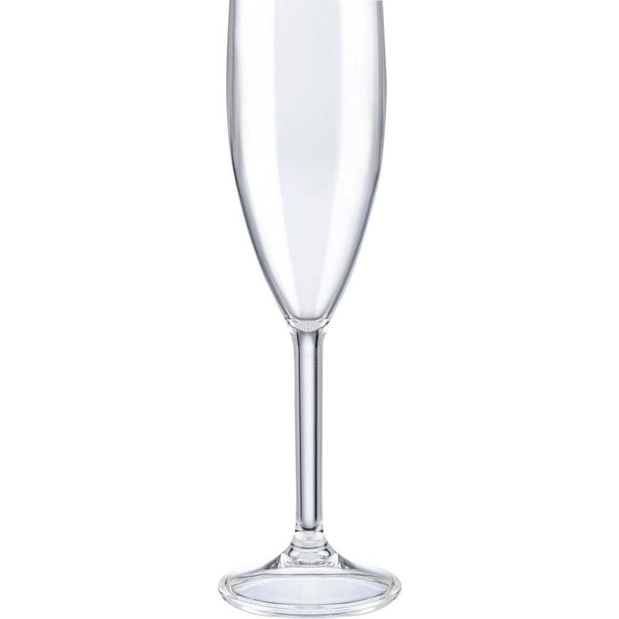 Glasserie Polycarbonat Sektglas, 180 ml