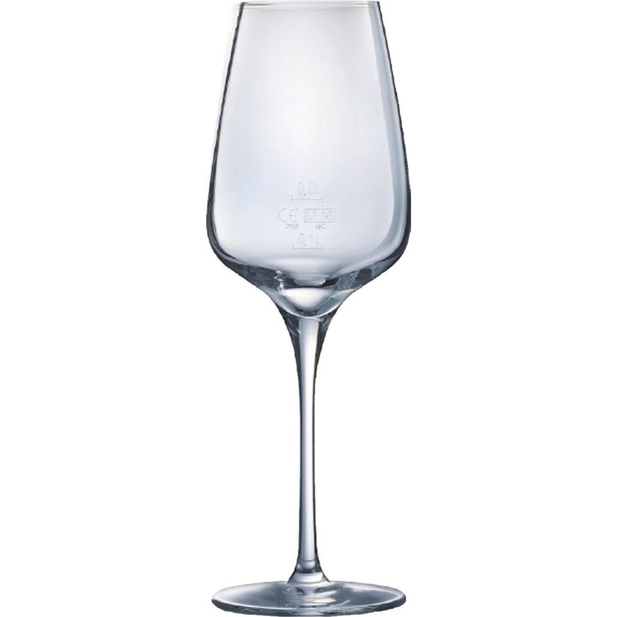 """Glasserie """"Sublym"""" Weinglas 45 cl mit Füllstrich"""