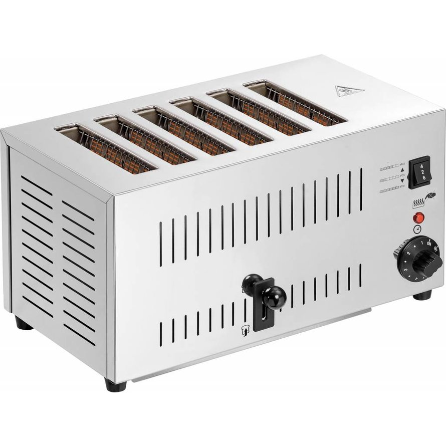 6 Scheiben-Toaster