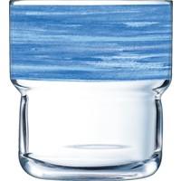 "Glasserie ""Brush"" Blau 220ml (1)"