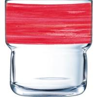 """Glasserie """"Brush"""" Cherry 220ml (1)"""