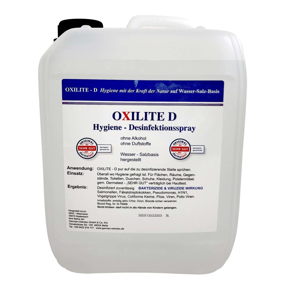 "Flächendesinfektion ""Oxilite D"" 5L"