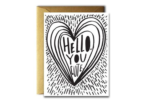 Native Bear Native Bear - You Cute - Greeting Card