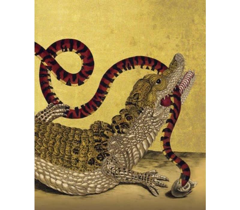 Archivist Gallery - Crocodile - Greeting Card