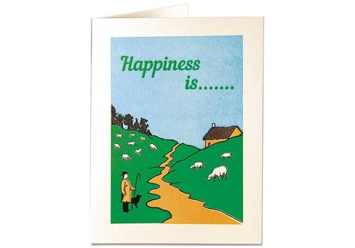 Archivist Gallery Archivist Gallery - Happiness Is... - Greeting Card