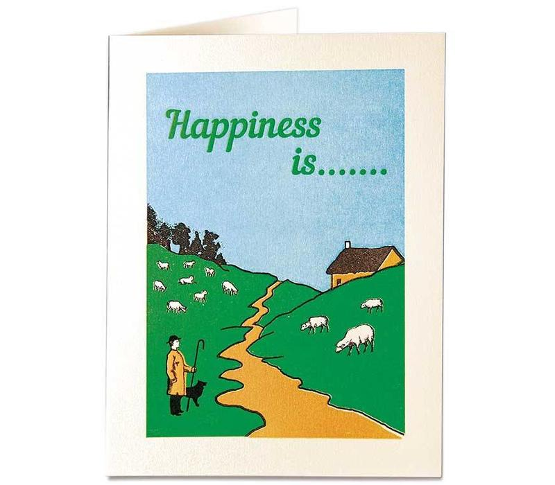 Archivist Gallery - Happiness Is... - Greeting Card
