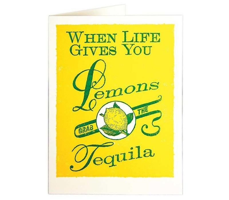Archivist Gallery - Lemons - Greeting Card