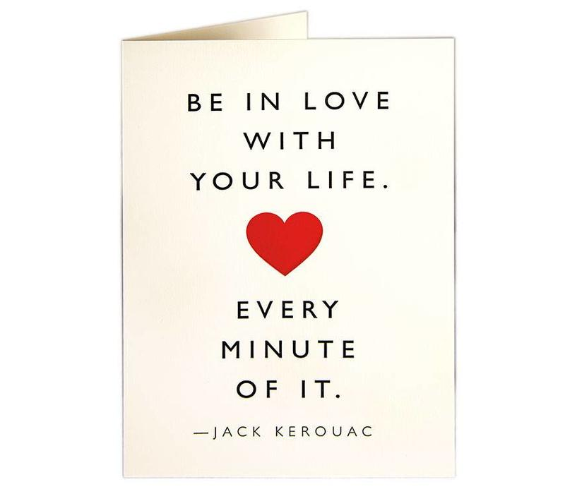 Archivist Gallery - Love Life - Greeting Card