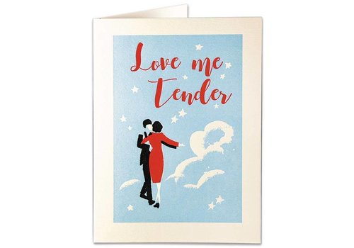 Archivist Gallery Archivist Gallery - Love Me Tender - Greeting Card