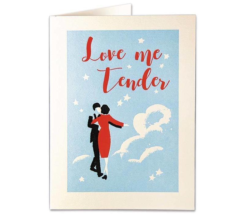 Archivist Gallery - Love Me Tender - Greeting Card
