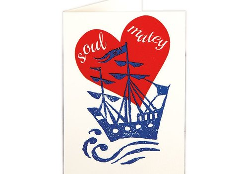 Archivist Gallery Archivist Gallery - Soul Matey - Greeting Card