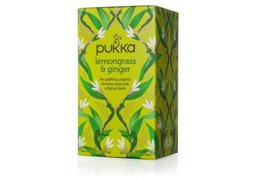 Pukka Pukka - Lemongrass & Ginger Tea