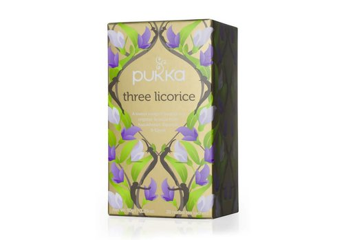 Pukka Pukka - Three Licorice Tea