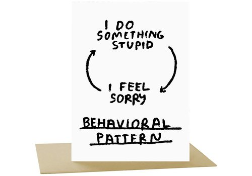People I've Loved People I've Loved - Behavioral Pattern - Greeting Card