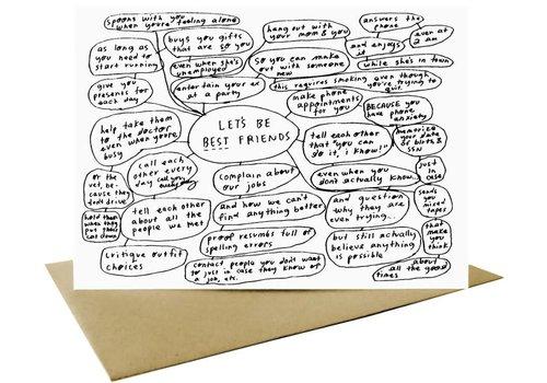 People I've Loved People I've Loved - Best Friends - Greeting Card