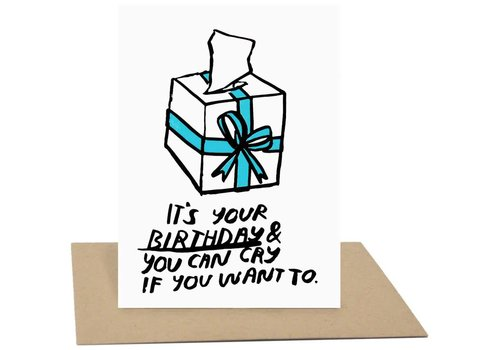 People I've Loved People I've Loved - Birthday Cry - Greeting Card