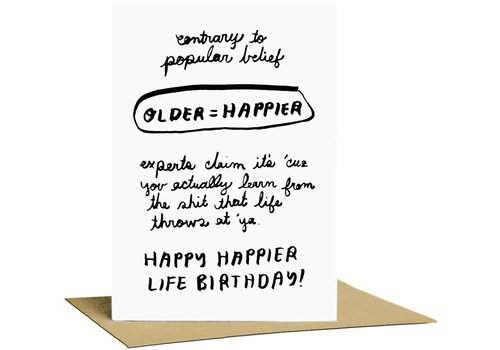 People I've Loved People I've Loved - Happy Life - Greeting Card