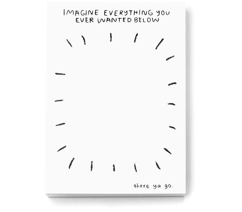 People I've Loved - Imagine Everything - Notebook