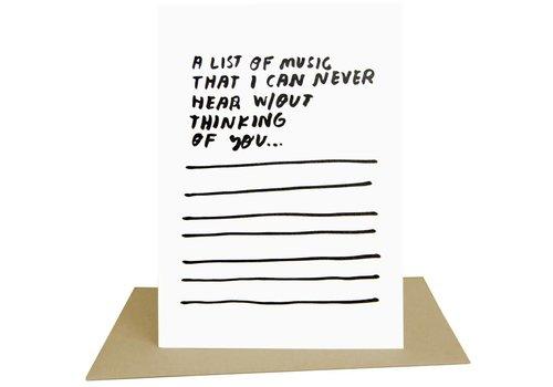 People I've Loved People I've Loved - Songs - Greeting Card