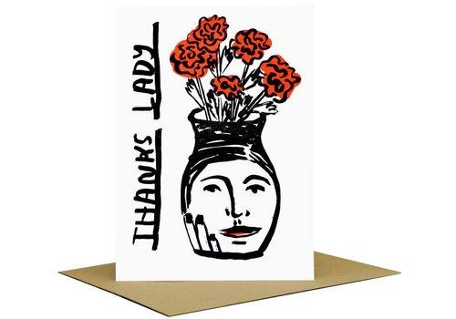 People I've Loved People I've Loved - Thanks Lady - Greeting Card