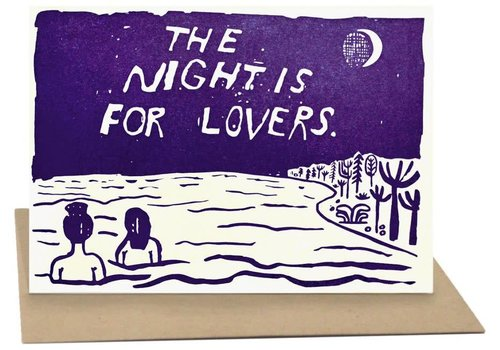 People I've Loved People I've Loved - The Night - Greeting Card