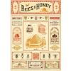 Cavallini Papers & Co Cavallini - Bees & Honey - Wrap/Poster