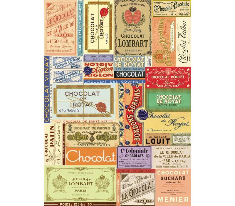 Cavallini - Chocolate - Wrap/Poster