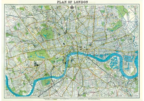 Cavallini Papers & Co Cavallini - London Map 2 - Wrap/Paper