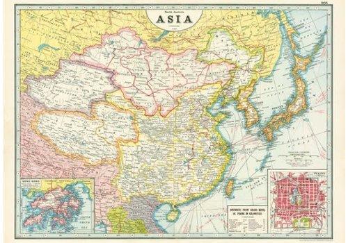 Cavallini Cavallini - Asia Map - Wrap/Poster