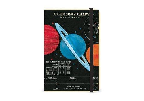 Cavallini Papers & Co Cavallini - Astronomy - Notebook with elastic closure