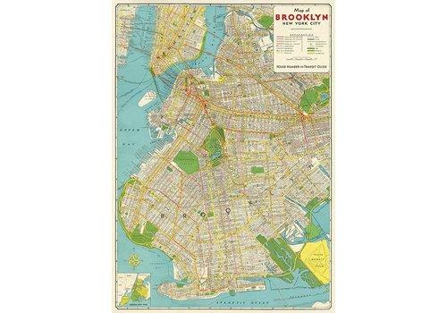 Cavallini Cavallini - Brooklyn Map - Paper/Wrap