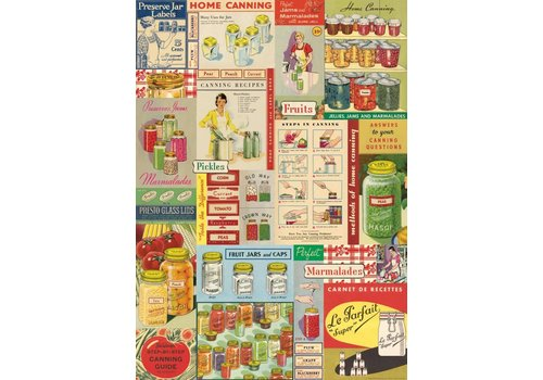 Cavallini Papers & Co Cavallini - Canning - Wrap/Poster