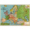 Cavallini Papers & Co Cavallini - Europe Map 3 - Wrap/Poster