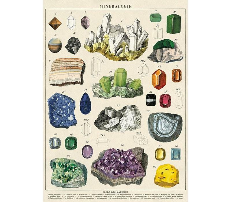 Cavallini - Mineralogie - Wrap/Poster