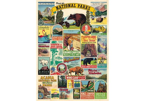 Cavallini Papers & Co Cavallini - National Parks - Wrap/Poster