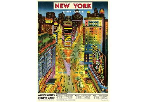 Cavallini Papers & Co Cavallini - New York Times Square - Wrap/Poster