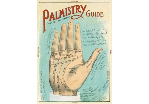 Cavallini Papers & Co Cavallini - Palmistry - Wrap/Poster