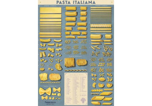Cavallini Papers & Co Cavallini - Pasta Italiana - Wrap/Poster