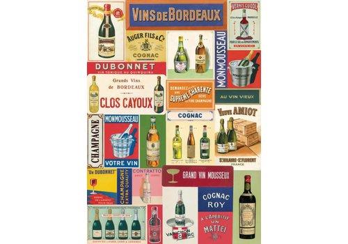 Cavallini Papers & Co Cavallini - Vin Francais - Wrap/Poster