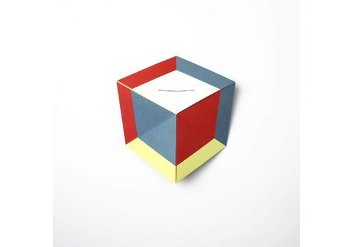 Papier Tigre Papier Tigre - Carte Secréte The Cube