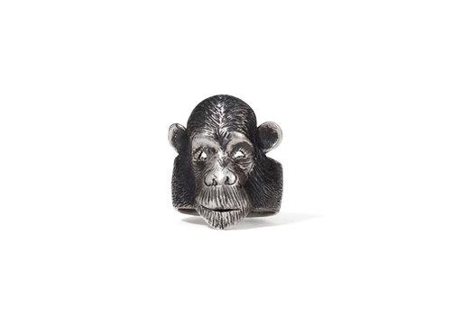 Michi Roman Michi Roman - Chimpanzee Ring - Sterling Silver