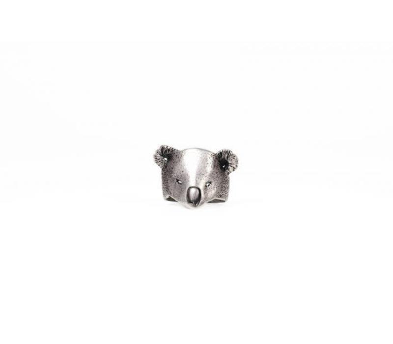 Michi Roman - Koala Ring - Silver